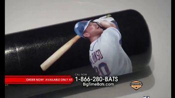 Big Time Bats TV Spot, 'Pete Alonso Mets Single Season Home Run Record Art Bat'