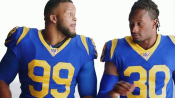 Pizza Hut $5 'N Up Lineup TV Spot, 'Aaron Donald & Todd Gurley Approved'