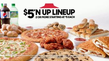 Pizza Hut $5 'N Up Lineup TV Spot, 'Aaron Donald & Todd Gurley Approved' - Thumbnail 5