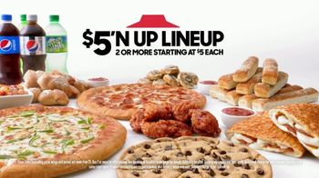 Pizza Hut $5 'N Up Lineup TV Spot, 'Aaron Donald & Todd Gurley Approved' - Thumbnail 6