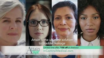 InControl Medical Attain TV Spot, 'Worried: $150 Off'