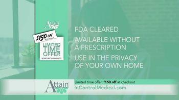 InControl Medical Attain TV Spot, 'Worried: $150 Off' - Thumbnail 5