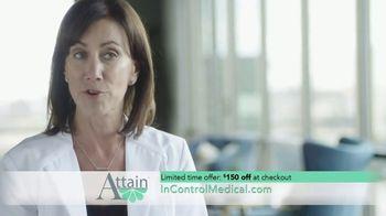 InControl Medical Attain TV Spot, 'Worried: $150 Off' - Thumbnail 7