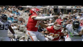 DIRECTV NFL Sunday Ticket TV Spot, 'Unbeatable' Featuring Patrick Mahomes - Thumbnail 4