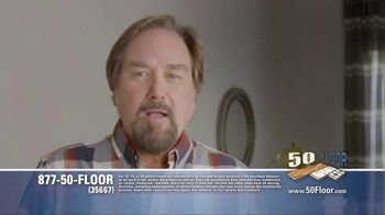 50 Floor TV Spot, 'Upgrade Your Home Fast' Featuring Richard Karn - Thumbnail 1