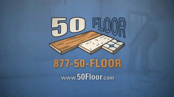 50 Floor TV Spot, 'Upgrade Your Home Fast' Featuring Richard Karn - Thumbnail 8