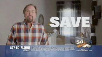 50 Floor TV Spot, 'Upgrade Your Home Fast' Featuring Richard Karn