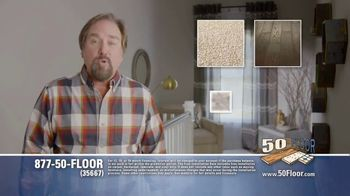 50 Floor TV Spot, 'Upgrade Your Home Fast' Featuring Richard Karn - Thumbnail 3