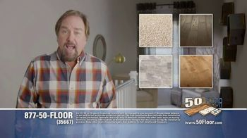 50 Floor TV Spot, 'Upgrade Your Home Fast' Featuring Richard Karn - Thumbnail 5