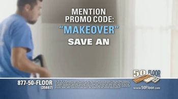 50 Floor TV Spot, 'Upgrade Your Home Fast' Featuring Richard Karn - Thumbnail 6