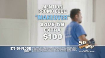 50 Floor TV Spot, 'Upgrade Your Home Fast' Featuring Richard Karn - Thumbnail 7