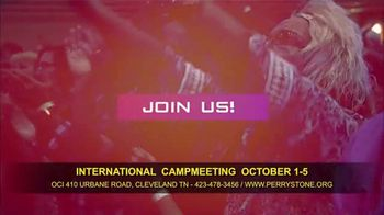 Perry Stone Ministries International Campmeeting TV Spot, 'Join Me' - Thumbnail 8