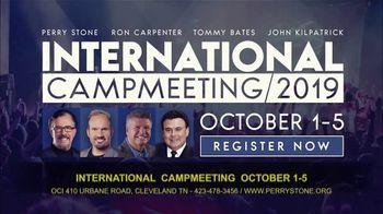 Perry Stone Ministries International Campmeeting TV Spot, 'Join Me'