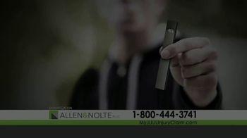 Allen & Nolte, PLLC TV Spot, 'Vaping Devices' - Thumbnail 1