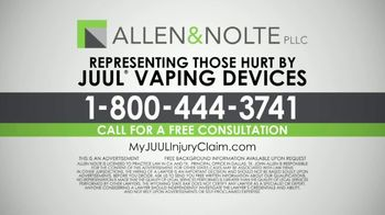 Allen & Nolte, PLLC TV Spot, 'Vaping Devices' - Thumbnail 4