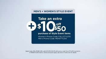 Kohl's Men's + Women's Style Event TV Spot, '15 or 20 Percent Off: Tops, Flannel, Bedding' - Thumbnail 5