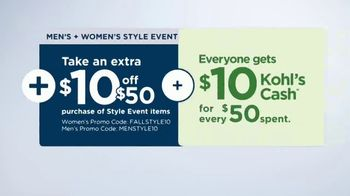 Kohl's Men's + Women's Style Event TV Spot, '15 or 20 Percent Off: Tops, Flannel, Bedding' - Thumbnail 6
