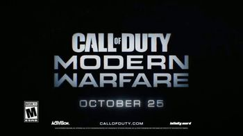 Call of Duty: Modern Warfare TV Spot, 'Seismic Shift' Song by Metallica