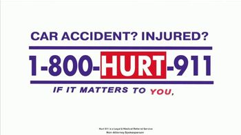 Hurt 911 TV Spot, 'Just Another Injury Attorney' - Thumbnail 9