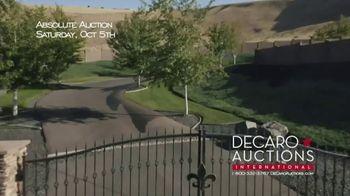 DeCaro Auctions International TV Spot, 'Absolute Auction: Kennewick, Washington' - Thumbnail 6