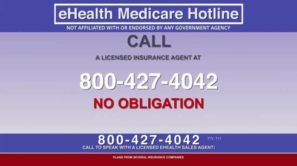 eHealthInsurance Services TV Commercial, 'Medicare Hotline'