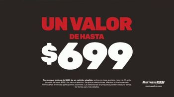 Mattress Firm Venta Semi-Anual TV Spot, 'Ahora hasta $400 dólares' [Spanish] - Thumbnail 6