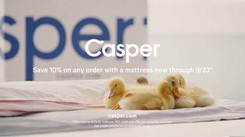 Casper TV Spot, 'The Sweetest Mattress: 10 Percent Off' - Thumbnail 10