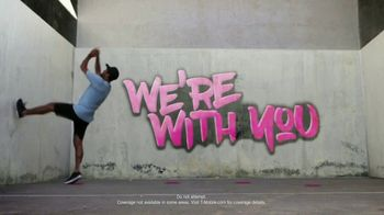 T-Mobile TV Spot, 'Most Powerful Signal: We're With You' Song by George Michael - Thumbnail 6