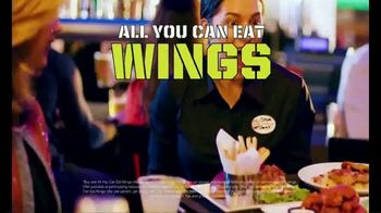 Dave and Buster's TV Spot, 'All You Can Eat Wings Plus a $10 Game Card for Just $19.99'