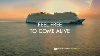 Norwegian Cruise Line Free at Sea TV Spot, 'Come Aboard and Feel Alive: Fly Free' - Thumbnail 1