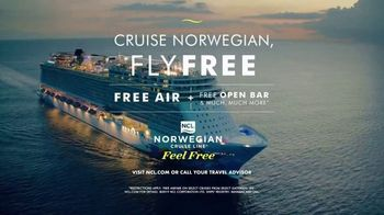 Norwegian Cruise Line Free at Sea TV Spot, 'Come Aboard and Feel Alive: Fly Free' - Thumbnail 8