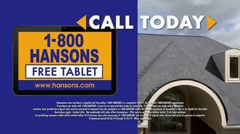 1-800-HANSONS End of Summer Sale TV Spot, 'Free Tablet' - Thumbnail 5