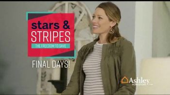 Ashley HomeStore Stars & Stripes Event TV Spot, 'Final Days: Doorbuster' Song by Midnight Riot - Thumbnail 10