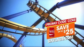 Six Flags Over Texas TV Spot, 'A Cool Blast of Fun' - Thumbnail 9
