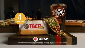 Burger King $1 Taco TV Spot, 'Taco-bout la gran sorpresa' canción de Lipps, Inc. [Spanish] - Thumbnail 7