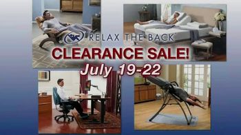 Relax the Back Clearance Sale TV Spot, 'Zero Gravity Recliners, Massage Chairs and Custom Pillows' - Thumbnail 1