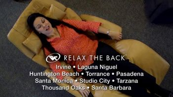 Relax the Back Clearance Sale TV Spot, 'Zero Gravity Recliners, Massage Chairs and Custom Pillows' - Thumbnail 10