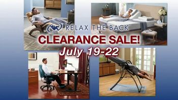 Relax the Back Clearance Sale TV Spot, 'Zero Gravity Recliners, Massage Chairs and Custom Pillows' - Thumbnail 2