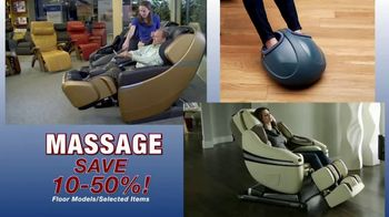 Relax the Back Clearance Sale TV Spot, 'Zero Gravity Recliners, Massage Chairs and Custom Pillows' - Thumbnail 5