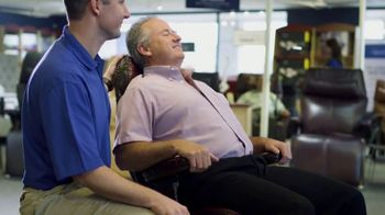 Relax the Back Clearance Sale TV Spot, 'Zero Gravity Recliners, Massage Chairs and Custom Pillows' - Thumbnail 9