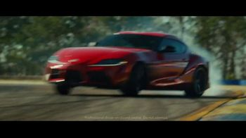 2020 Toyota GR Supra TV Spot, 'Track Day' Song by Julie Andrews [T1] - Thumbnail 4