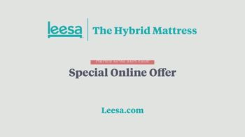 Leesa Hybrid Mattress TV Spot, 'Wake Up Happier' - Thumbnail 9