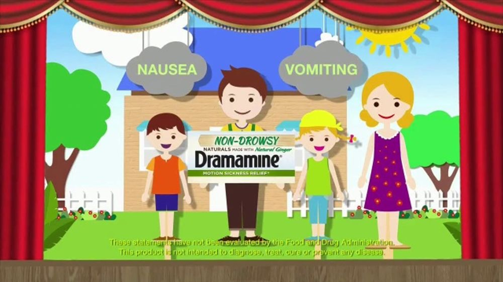 Dramamine Non-Drowsy Naturals TV Commercial, 'Only Way to Travel' - Video