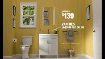 The Home Depot TV Spot, 'New Bathroom' - Thumbnail 10