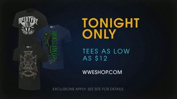 WWE Shop TV Spot, 'Come On: $12 Tees' Song by SATV Music - Thumbnail 8