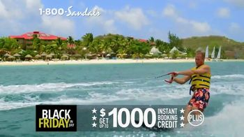 Sandals Resorts Black Friday in July TV Spot, 'Whatever You Want' - Thumbnail 4