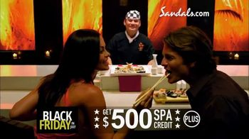 Sandals Resorts Black Friday in July TV Spot, 'Whatever You Want' - Thumbnail 6