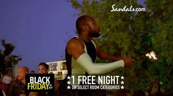 Sandals Resorts Black Friday in July TV Spot, 'Whatever You Want' - Thumbnail 7
