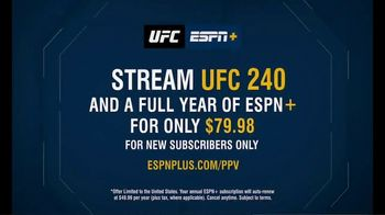 ESPN+ TV Spot, 'UFC 240: Holloway vs. Edgar' - Thumbnail 6