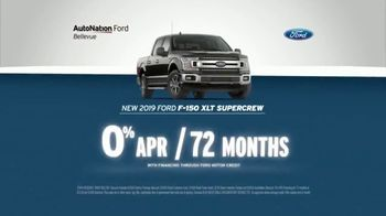 AutoNation TV Spot, 'Save Now: 2019 Ford F-150' - 10 commercial airings